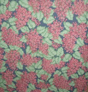 Vintage By the Yard RL5429 ROSEDALE Wall Paper Covering Violets Leaves Floral