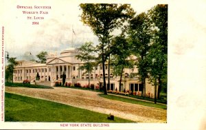 MO - St. Louis. 1904 World's Fair, New York State Building
