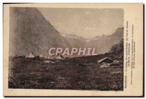 Old Postcard Scout Scout Jamboree Bareges Bernard Bollot camp The valley of G...