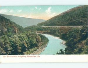 Divided-Back WATER SCENE Robinson & Bolivar - Near Pittsbursh PA hp8836
