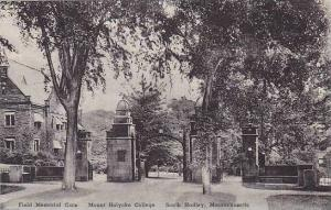Massachusetts South Hadley Mount Holyoke College The Field Memorial Gate Albe...