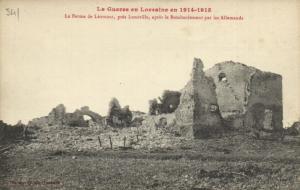 CPA Militaire (Dep.54) La Ferme de Léomont, prés Lunéville (91803)