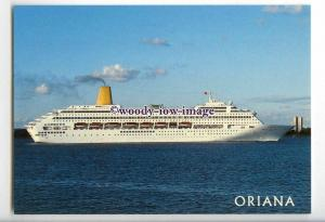 LN1016 - P&O Liner - Oriana , built 1995 - postcard