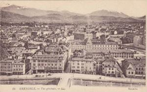 GRENOBLE, General Aerial View, Isere, France, 00-10s