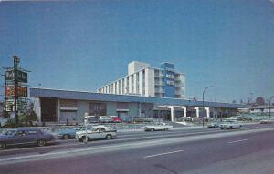 Street View of the Blue Boy Motor Hotel, Vancouver, British Columbia, Canada,...