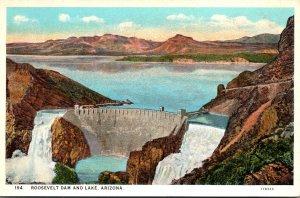 Arizona Roosevelt Dam and Lake Curteich