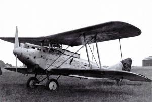 Vintage Repro Postcard, ACAZ C.2 Biplane Fighter Belgian Air Force 1927 60L