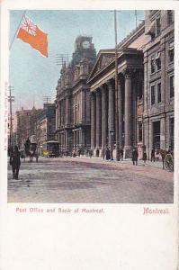 MONTREAL , Canada , 00-10s ; Flag , P.O. & Bank