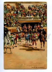 176857 Spain HORSE Matador Torero Vintage Stengel PC