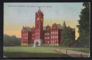 Hamilton Ontario colour Pc Normal College, unused