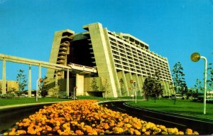 Walt Disney World Contemporary Resort 1973