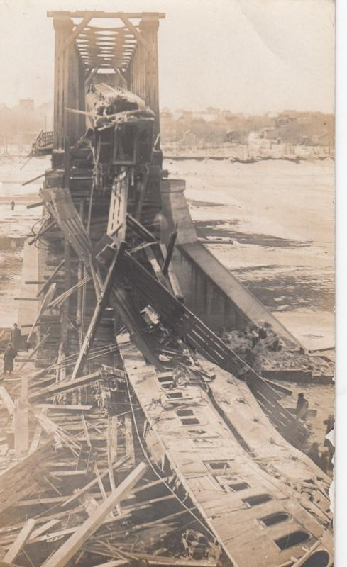 RP; SASKATOON, Saskatchewan: Train Wreck of March 4th, 1912