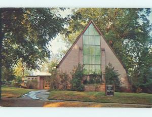 Unused Pre-1980 CHURCH SCENE Montevallo Alabama AL L3676