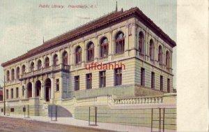 PUBLIC LIBRARY, PROVIDENCE, RI. 1909