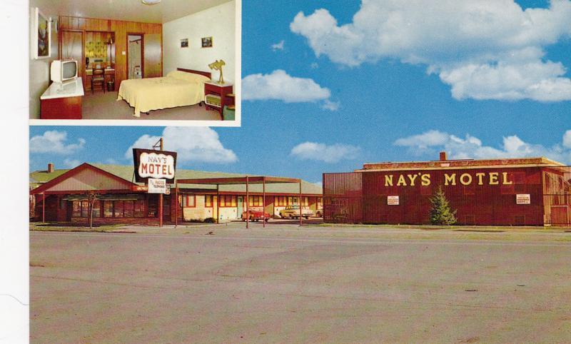 Nay's Motel , NORTH BATTLEFORD , Saskatchewan , Canada , 50-60s
