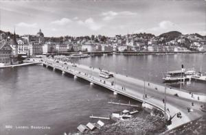 Switzerland Luzern Seebruecke 1957 Photo