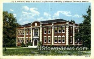 Jay H. Neff Hall, University of Missouri Columbia MO 1951