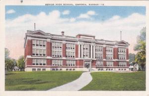Emporia, Kansas 1930-40s ; Senior High School