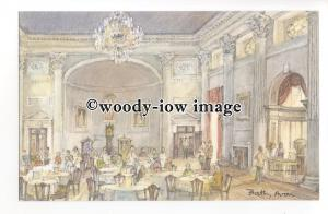 DS0340 - Somerset - Inside the Pump House, Bath, Artist - David Skipp - postcard