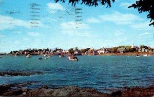 Maine Jonesport The Down East Fishing Village 1970