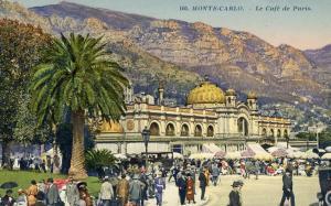 Monaco - Monte Carlo. Cafe de Paris