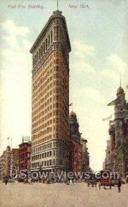 Flat Iron Bldg in New York City, New York