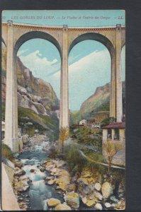 France Postcard - Les Gorges Du Loup - Le Viaduc Et L'Entree Des Gorges  HP176