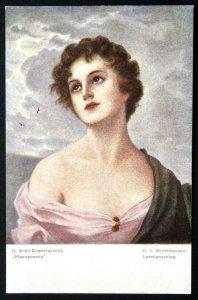 140494 BODENHAUSEN The Lark Nude Female Art RICHARD Ed. IMP RUSSIA pc 1910s
