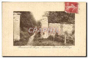 Postcard Old Beaumont Raper Old Gate Abbey