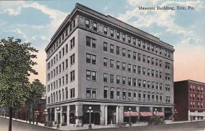 ERIE, Pennsylvania, 1900-1910s; Masonic Building