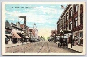 Indiana Harbor (East Chicago) Transylvania Romanian Hall~C**sma's 1920s Bluesky