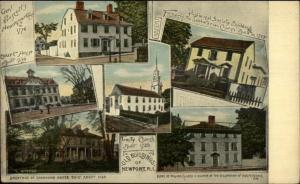 Newport RI Multi-View c1910 Postcard