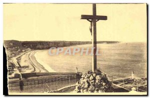Old Postcard Fecamp view from the Calvary