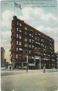 Vintage postcard, The Copley Square Hotel, Boston, Mass.