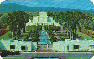 Hawaii Oahu Laie The Church Of Jesus Christ Of Latter Day Saints Mormon Temple