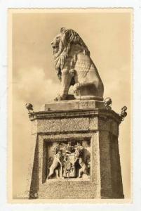 RP, Lion Statue, Lindau i. Bodensee (Bavaria), Germany, 1920-40s