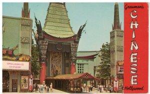 Postcard - Grauman's Chinese Theatre, Hollywood, California