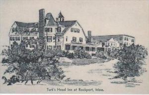 Massachusetts Rockport Turk's Head Inn Albertype