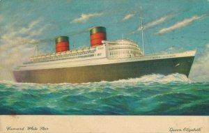 Cunard White Star Queen Elizabeth 03.83
