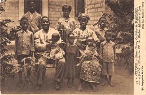 BR57111 Pierre Claver Catechiste du Dahomey avec sa famille   Africa  Benin