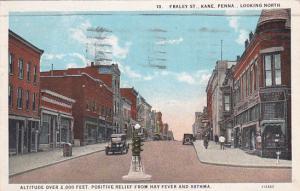 Fraley Street looking North, KANE, Pennsylvania, PU-1934
