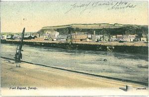 VINTAGE POSTCARD: GB : JERSEY : FORT REGENT 1904