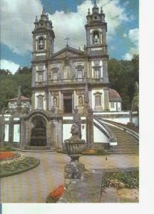Postal 014350: Templo de Bom Jesus en Braga, Portugal