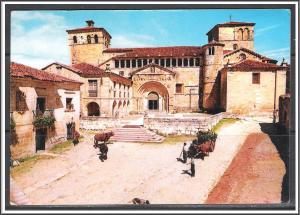 Spain Santillana Del Mar Historic Building - [FG-159]