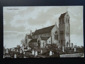 Wales Glamorgan PENARTH St Augustine's Church c1912 RP Postcard by Valentine