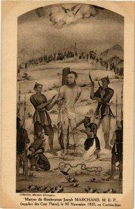 CPA AK INDOCHINA Martyre du Bienheureux Joseph Marchand VIETNAM (956504)