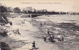 St.Nazaire, Pamorama de la Plage a maree basse, Loire Atlantique, France, 00-10s
