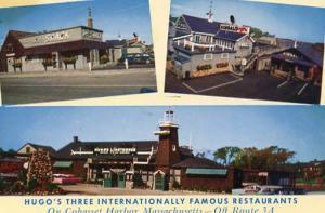 MA - Cohasset Harbor. Hugo's Restaurant