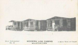 CASPER , Wyoming , 30-40s ; Modern Log Cabins