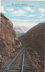 YUKON, Canada, 1900-1910's; On Tunnel Mountain, Scene On White Pass & Yukon R...